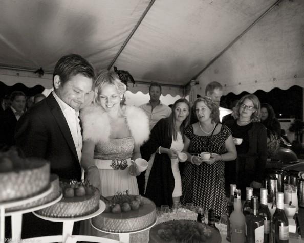 The cake ceremony