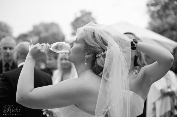 Man får njuta på sin egen bröllopsdag