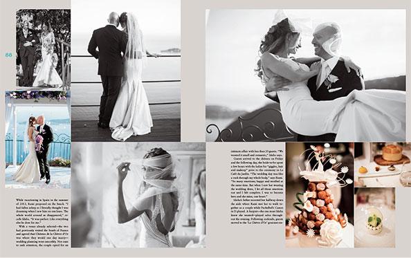 Kicki publiceras i Wedding style